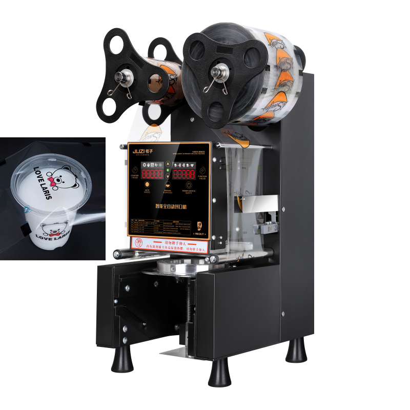 Automatic Juice Paper Cup Sealing Machine