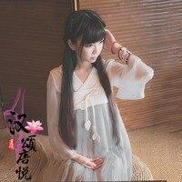 Vintage YUSHENGYAN Traditional Chinese Hanfu Dress Ruqun Han Dynasty Style Clothing Mori Girl High Waist Long
