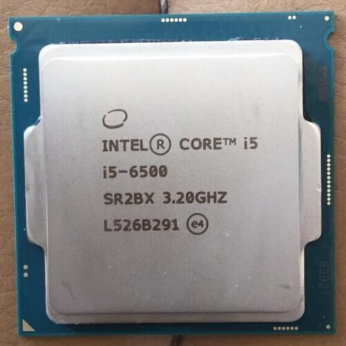 Intel Core i5 7 series Processor I5 6500 CPU LGA 1151 land FC LGA 14 nanometers Dual Core I5 6500