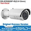 Hik IP Camera 2MP DS-2CD2620F-IS 2.8-12mm IP Camera 1080P POE Vari-focal IR Bullet Security Outdoor Camera