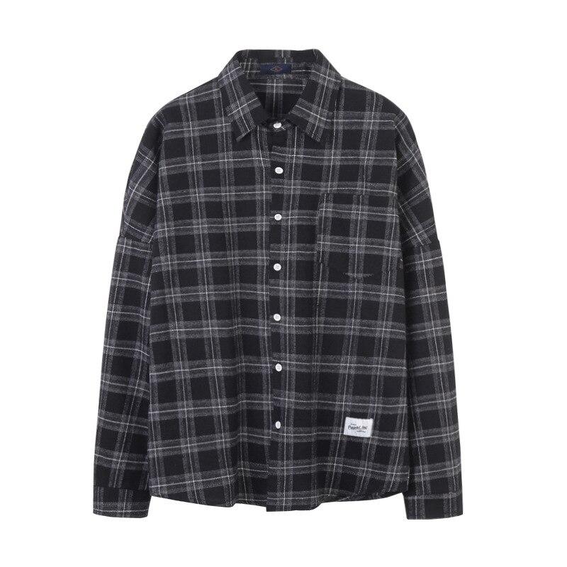 Casual Plaid Summer Shirt Mens Clothing 2019 Floral Printed Streetwear Long Sleeve Men Dress Slim Fit Formal Shirts Cufflinks 31