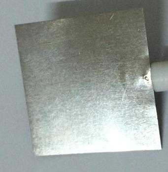 Pure platinum sheet platinum electrode 10*10*0.1mm purity of 99.99% can be started to play the regular invoice