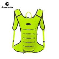 Anmeilu 3L Sport Running Bag Women Men Waterproof Hiking Cycling Camping Backpack Jogging Belt Waist Vest Pack Gym Accessories
