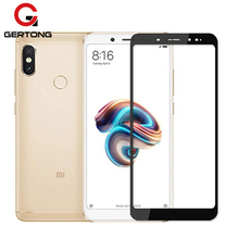 GerTong Full Cover Tempered Glass For Xiaomi Mi A1 A2 Lite 8 Redmi 5 Plus 6 6A 4X Redmi Note 5 6 Pro 4 4X Screen Protector Film(China)