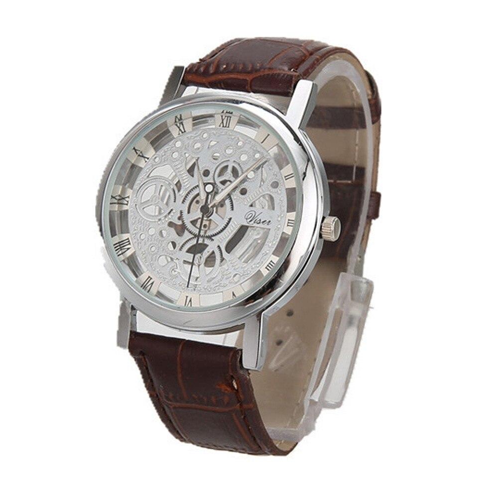Hommes montres haut marque de luxe en acier inoxydable décontracté or Quartz analogique Date montre-bracelet de haute qualité pour livraison directe S7 7