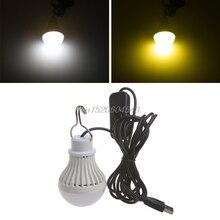 Lighting Camping-Lantern Portable Lamps Led-Light-Bulb 5W USB R02 Switch Tent Dropship