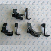 Juki DNU 1541 LU 1508 Consew 225 255 Right Edge Guide Presser Foot Set 3 Sizes