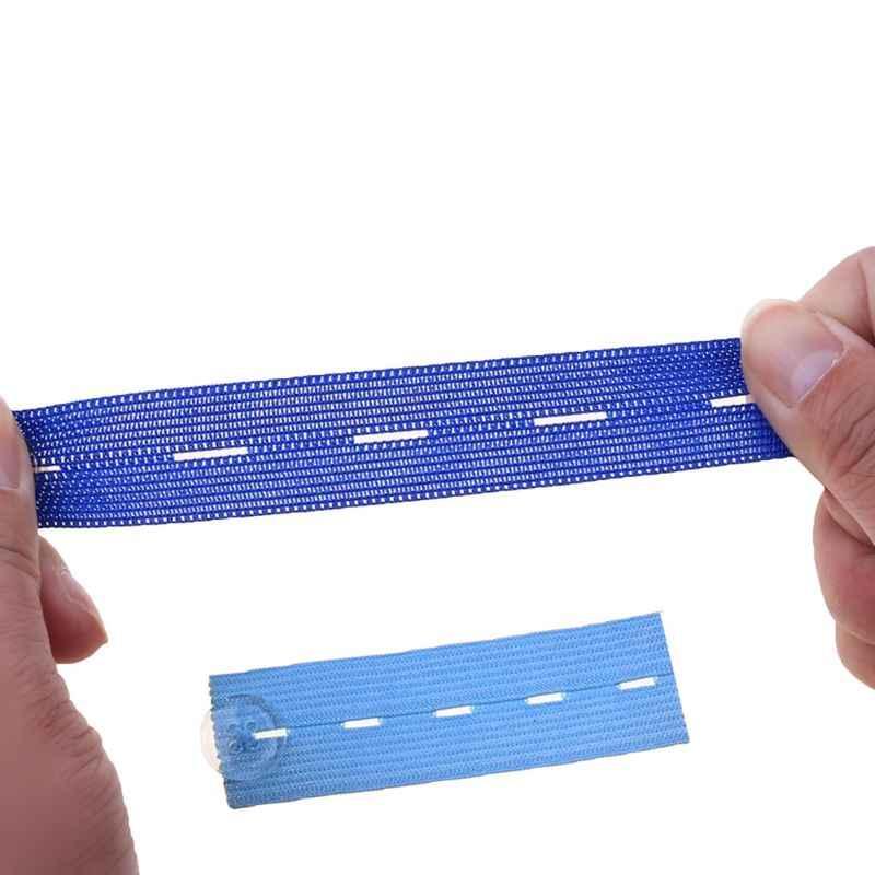 1Pc Moederschap Tailleband Broek Buik Rubber Band Riem Rok Broek Taille Expander Knoppen 4 Gaten Verstelbare Elastische Extender 5