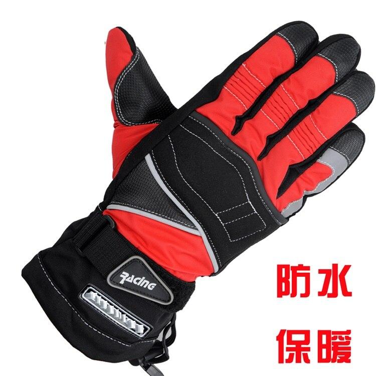 100% waterproof wind proof off-road vehicle racing motorcycle gloves warm winter