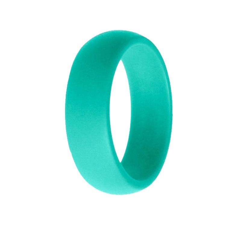 10 sztuk środowiska silikonowy pierścień obrączka dla kobiet mężczyzn Crossfit elastyczna obrączka zaręczynowa hipoalergiczny gumowy palec serdeczny