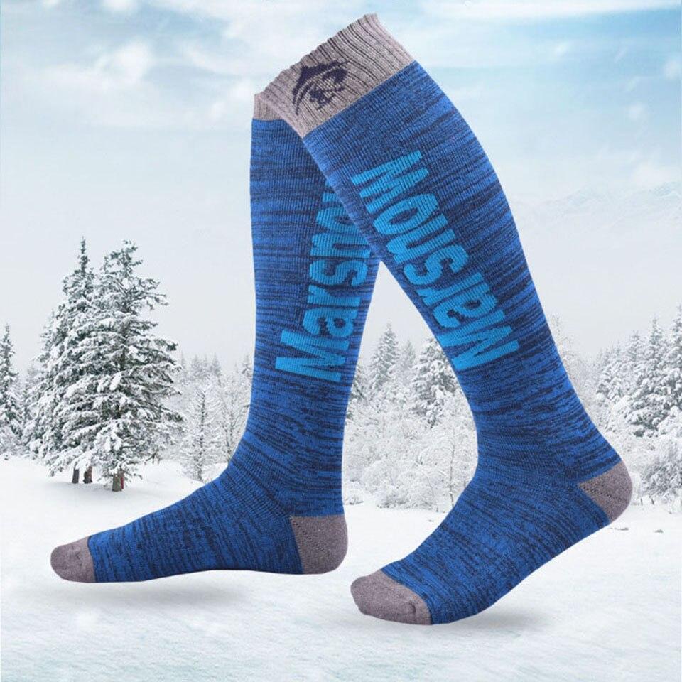 Marsnow Winter Thermal Ski Socks Cotton Sport Snowboard Cycling Socks Thermosocks Leg Warmers For Men Women Children