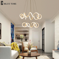 2018 новый дизайн современный подвесной светильник для гостиной столовой слоя акриловой алюминиевый корпус светодиодный освещение светильн
