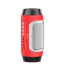 Cool Portable Speakers with Fm Radio Wireless Bluetooth Speaker C-65 Mini Loundspeakers with Mic Support TF Card