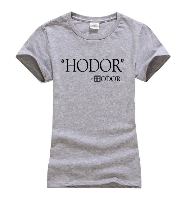 Funny Game of Thrones Print T-shirts for Women