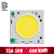 8560 lámpara LED COB Chip 35 W 50 W AC 110 V 220 V blanco frío entrada inteligente controlador IC ajuste para reflector LED DIY(China)