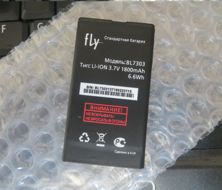 High Quality For FLY BL7303 New Mobile Phone Lithium Original 1800mAh Battery Replacement Parts