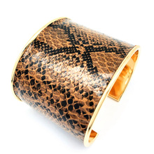 Fashion Tortoiseshell Leopard Bangle Bracelet for Women Snakes Brace Wild Free Night Club Party