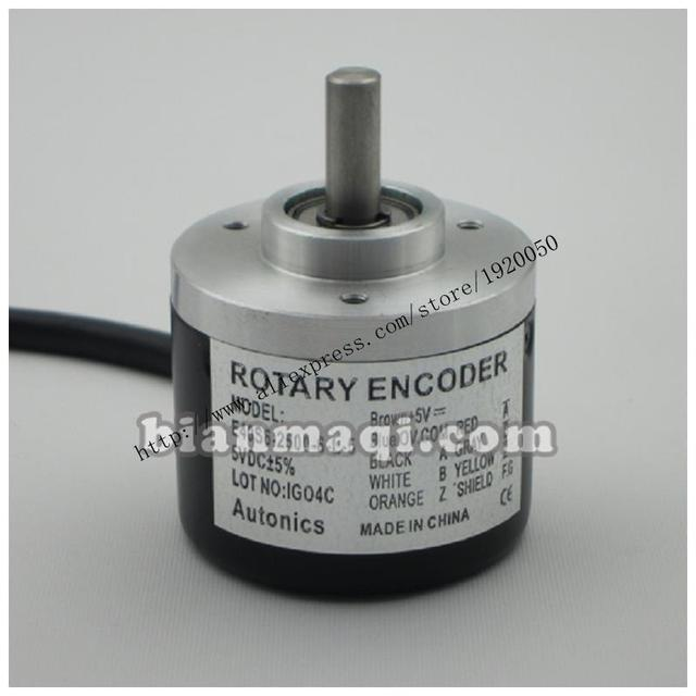 Alto Knicks SE40S6-200-3-2-24 rotary encoder / 200 line / shaft diameter 6mm