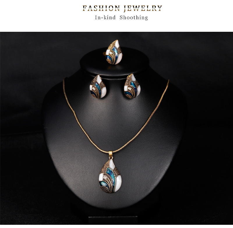 Fashion High End Atmosphere Jewelry Sets Classic Water