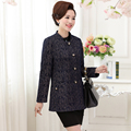 XL para 4XL mulheres blazers preto tricô gola Único breasted Entalhado jaqueta plus size primavera feminino manga longa outono