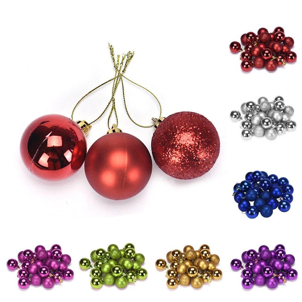 Newchristmas 4 Cm 24 St Plastic Kerstboom Decoratie Bal Banken & Banken & Stoelen Kids Living Roomdrop Verzending Voor Het Verbeteren Van De Bloedsomloop