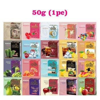 50g Fruit Flavors E Hookah Tobacco Metal Shisha Hookah Hose Charcoal Accessories Portable Hookah Flavor