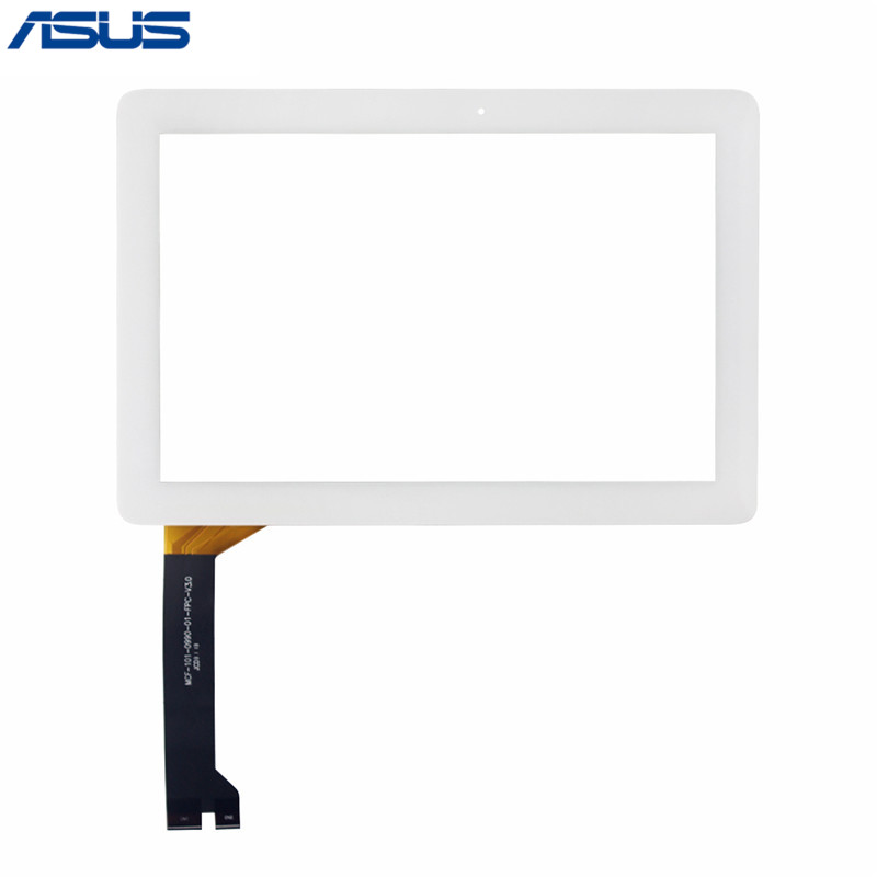 Asus Touchscreen Black/White Touch Screen Digitizer panel glass Lens repair parts For Asus MeMO Pad 10 ME102 ME102A Touch panel black touchscreen panel glass digitizer lens sensor replacement parts for asus memo pad 10 me103k 10 1 tablet