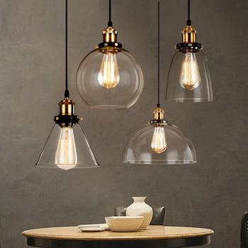 Comprar ahora vintage loft rh l mparas colgantes cristal - Luminarias colgantes ...