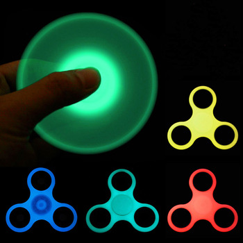 Light Hand Spinner ABS EDC Fidget Spinner Toy for Autism and ADHD Anti Stress Puzzle to Kid 22 Style Finger Spiner Free Shipping Спиннер