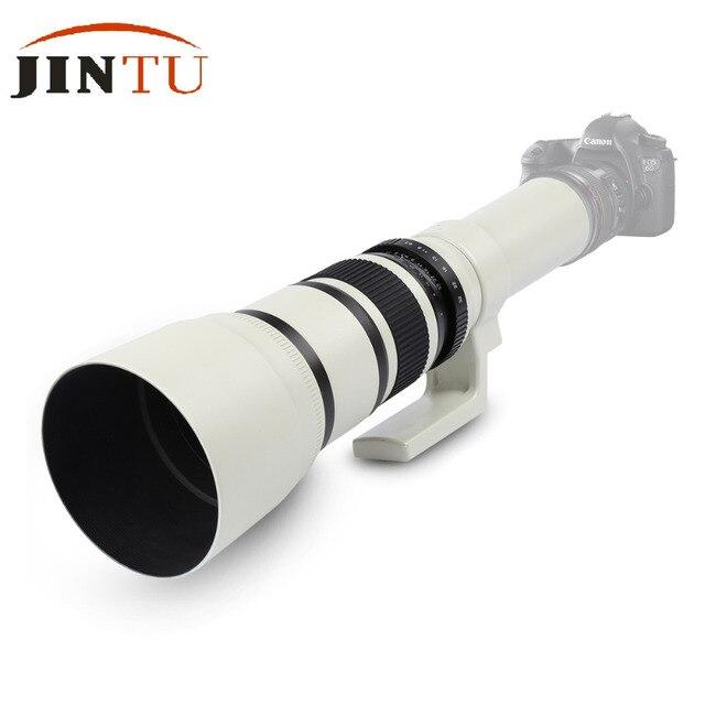 JINTU 500mm F6.3 Súper Teleobjetivo Lente MF fotograma Completo Para ...