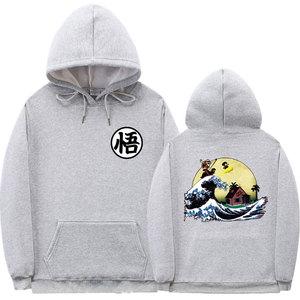 Image 5 - Multiple styles dragon ball hoodie sweatshirt men Print Turtle Goku poleron hombre Streetwear sudadera dragon ball pullover