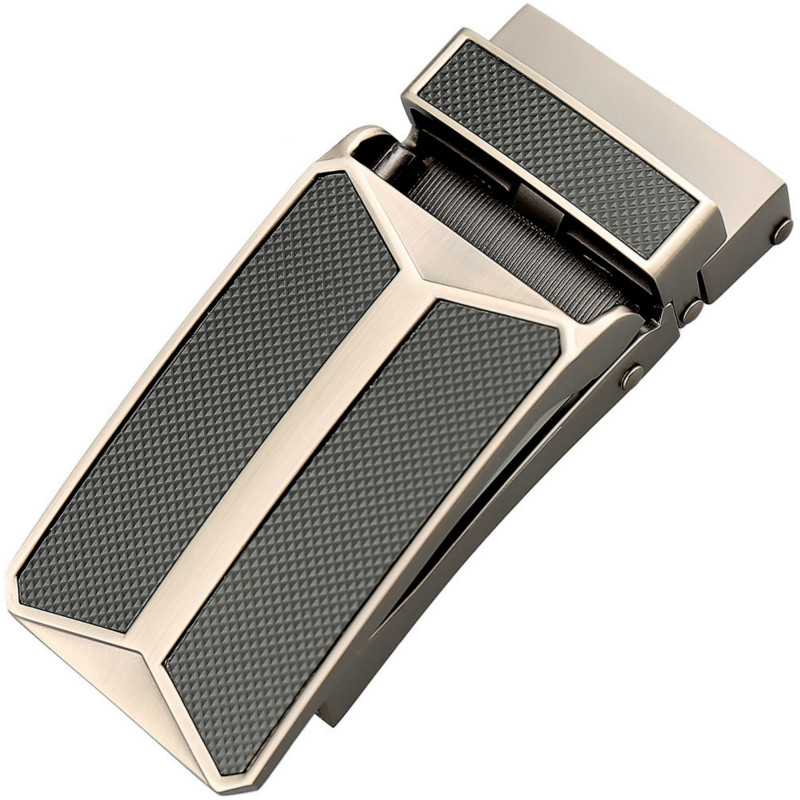 Genuine Men's Belt Head, Belt Buckle, Leisure Belt Head Business Accessories Automatic Buckle Width 3.2CM Luxury Belt LY155-0289