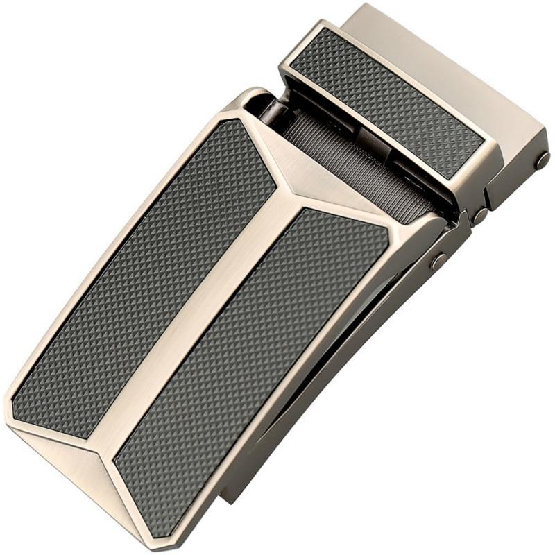 Genuine Men's Belt Head, Belt Buckle, Leisure Belt Head Business Accessories Automatic Buckle Width 3.2CM Luxury Belt LY155-0289