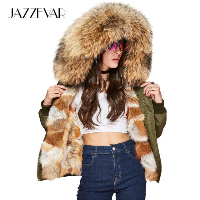 Femmes Couture Haute Hiver Jazzevar Nouvelle Luxueux De Réel Rue gqXSvBxfn