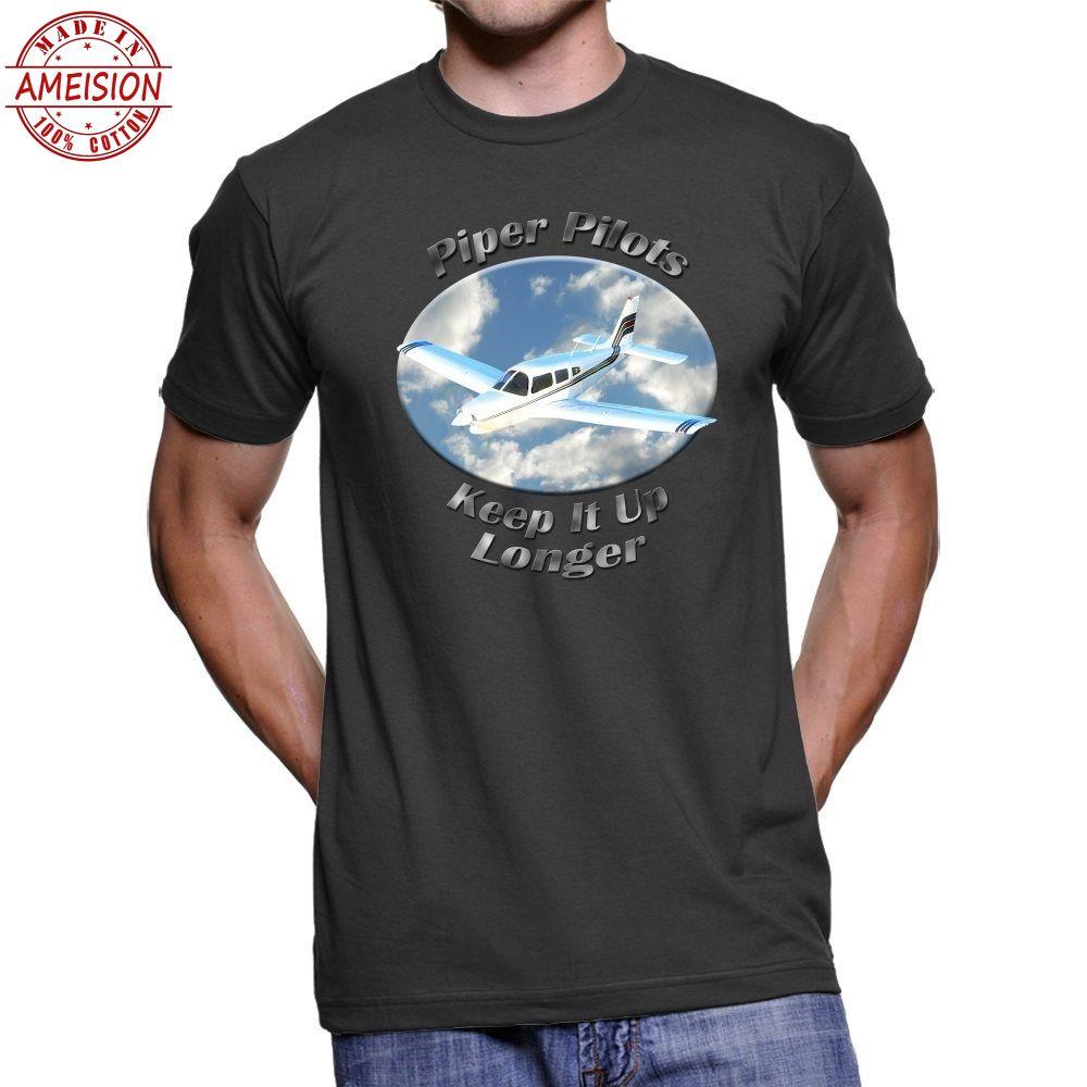 2019 New Summer Casual Men Tee Shirt Piper Arrow Piper Men`s Dark T-Shirt