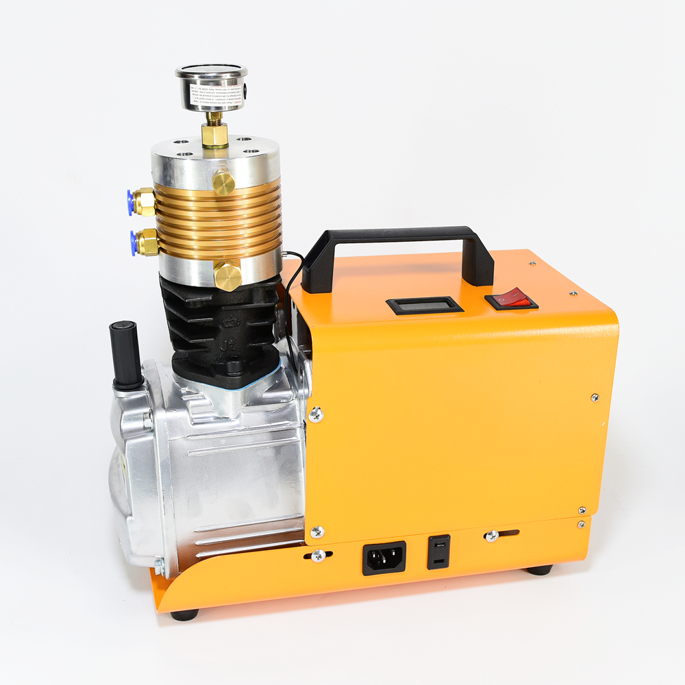 ACCP02 Compressed Air Gun High Pressure Air Pump Air Compressor 220v 4500psi/300ar 8MM Quick Connect Female ACECARE