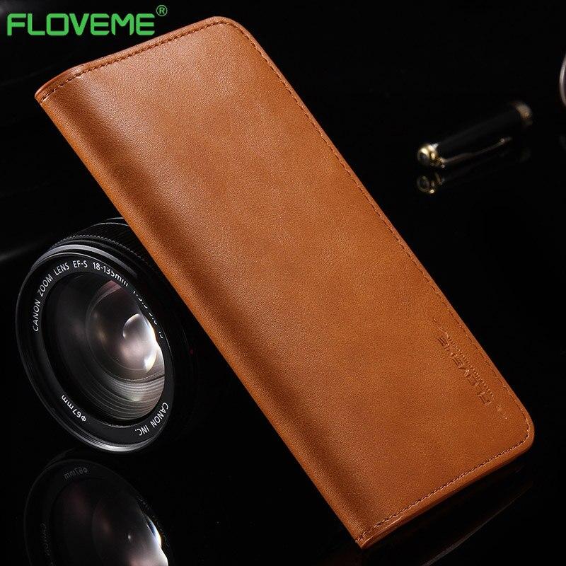 imágenes para FLOVEME para el iphone 8 7 S 7 6 6 s Plus 5S Fundas de Cuero Monedero Cubiertas para Huawei P11 P10 P8 P9 lite mate 9 10 8 para LG G5 G6 G4