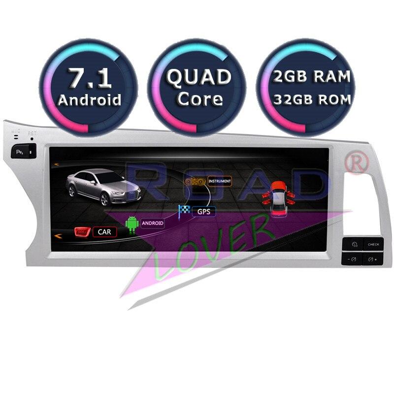Roadlover Android 7.1 Car Multimedia Radio Per Audi Q7 (2006 2007 2008 2009 2010 2011) stereo di GPS di Navigazione Automagnitol NO DVD