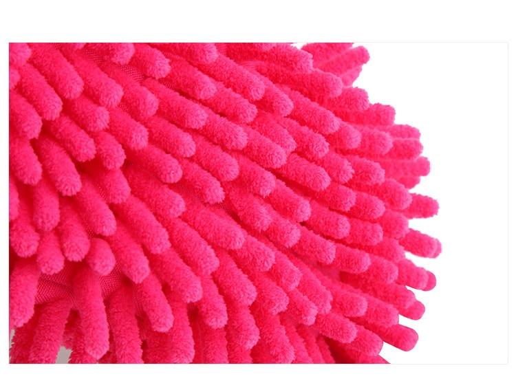 5 Farbe Chenille Hausschuhe Wiederverwendbare Sweep Dust Mop - Haushaltswaren - Foto 4