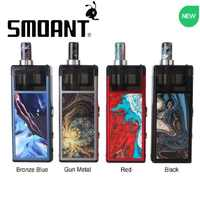 Latest!!! Smoant Pasito Pod System Vape Kit 1100mAh Battery & refillable Pod DL/MTL/RBA Coils Ecig Vape Pod VS Frenzy/ DRAG Nano