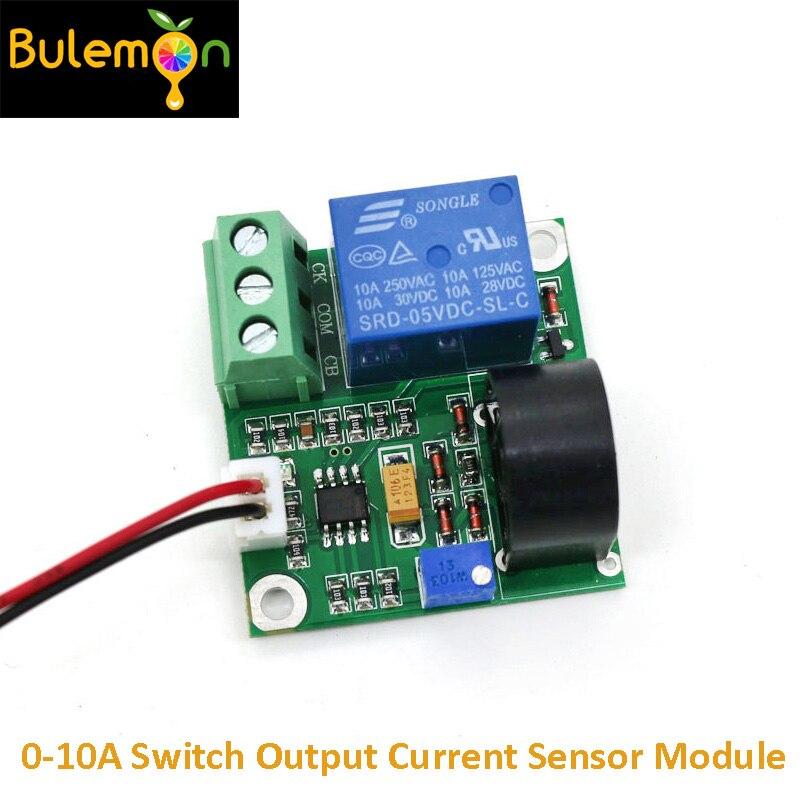 AC Strom Erkennung Modul 0-10A Schalter Ausgang Aktuelle Sensor Modul