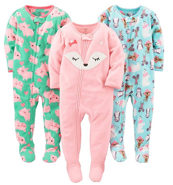 Foreign brand name high grade boys and girls fleece with foot piece climbing clothes leotard Romper