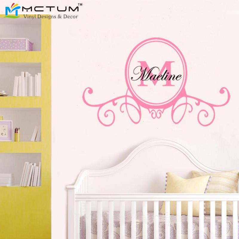 Wall Decor Baby Girl : Baby girl wall decals roselawnlutheran