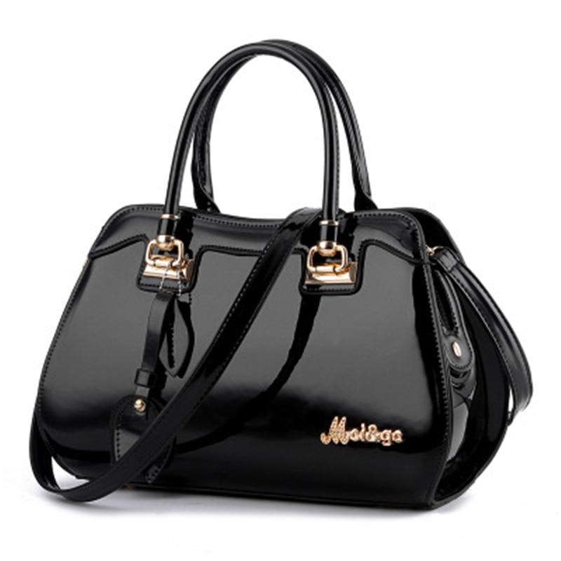 Vintage Handbags Women Top Handle Bags Shining Design Female Large Capacity Shoulder Bags Ladies Messenger Bag