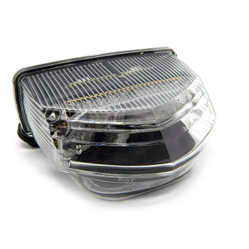 Motorcycle Integrated Super <font><b>LED</b></font> Light Brake Lamp Tail Light Assembly Turn Signal Clear For HONDA <font><b>CBR600RR</b></font> 07-14/ CBR600RA 09-11