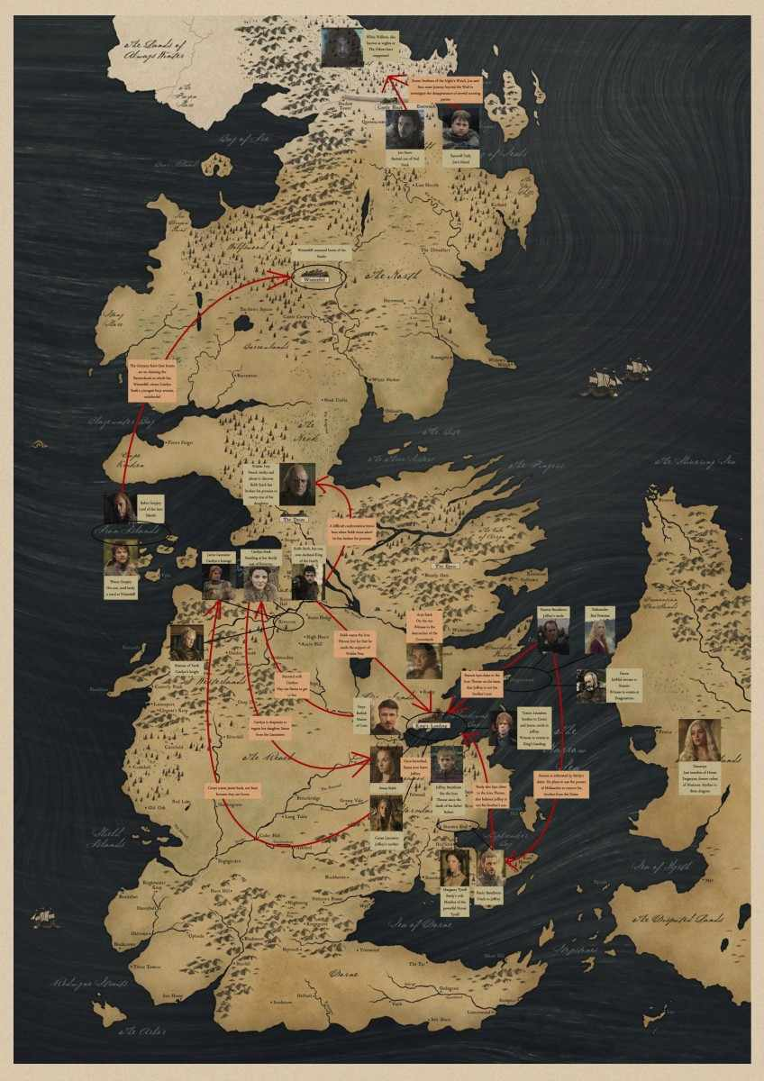 Game of Thrones Posters Antique World Map of Westeros Essos HBO Meval Game Of Thrones Full Map Poster on walking dead map poster, hobbit unexpected journey map poster, gravity falls map poster, game.of thrones s3 poster, supernatural map poster, life map poster, united states map poster, red dead redemption map poster, world of warcraft map poster, community map poster, silicon valley map poster, fallout new vegas map poster, skyrim map poster, dark souls map poster, grand theft auto v map poster,
