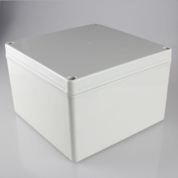 200*200*130MM IP67 Waterproof Plastic Electronic Project Box w/ Fix Hanger Plastic Waterproof Enclosure Box Housing Meter Box plastic enclosure for electronic box waterproof plastic box for electronic project 200 150 100mm