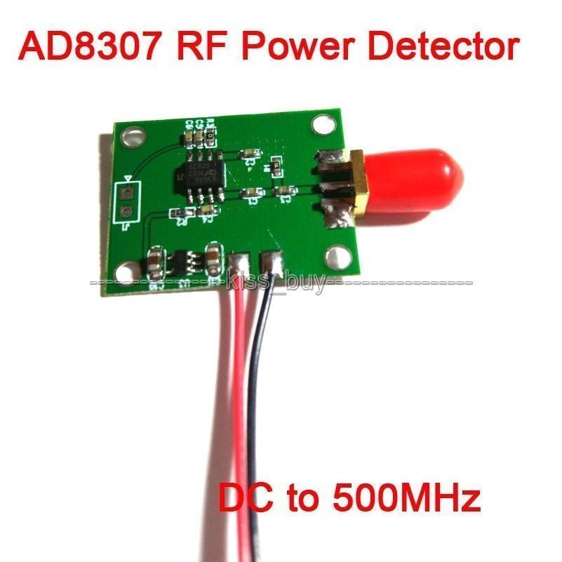 AD8307 RF Power Detector Module Logarithmic Amplifier DC-500MHz Transmitter Test