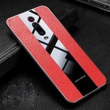 Xiaomi Redmi K20 Pro Case Litchi Leather Grained TPU Silicon Cover Cases For K 20 K20pro Phone