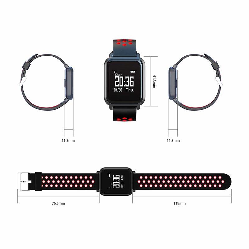 34caabfc361 ZGPAX Smartwatch S9 pro 2.5D Gorilla Glass Tela OLED de oxigênio No Sangue  pressão Arterial IP68 Atividade Rastreador À Prova D  Água Relógio  Inteligente em ...